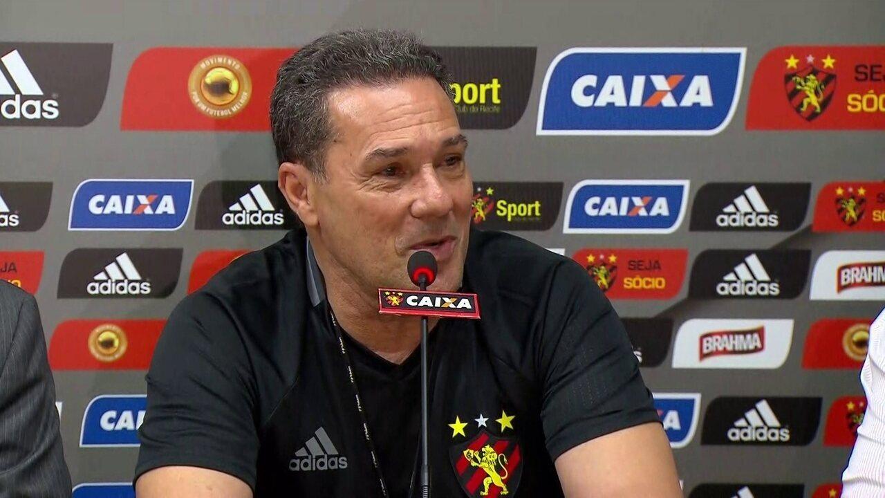 Luxemburgo garante foco total no Campeonato Brasileiro no momento