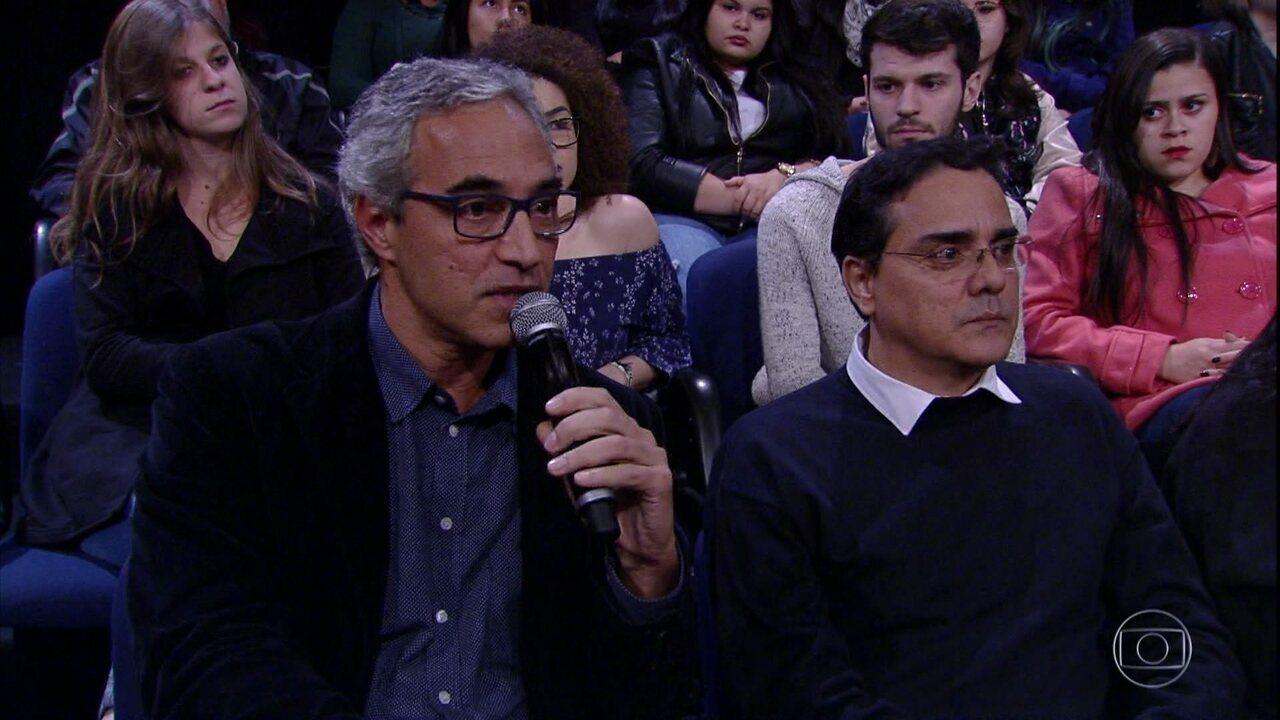 Pedro Bial apresenta pai de paciente que utiliza cannabis para fins medicinais