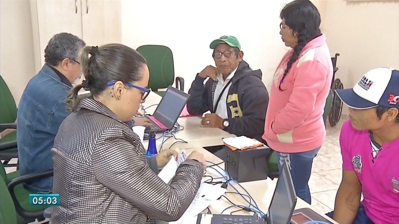 Mutirão em MS ajuda idosos indígenas a obterem documentos