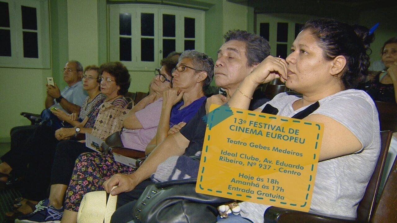Festival de cinema europeu tem início em Manaus