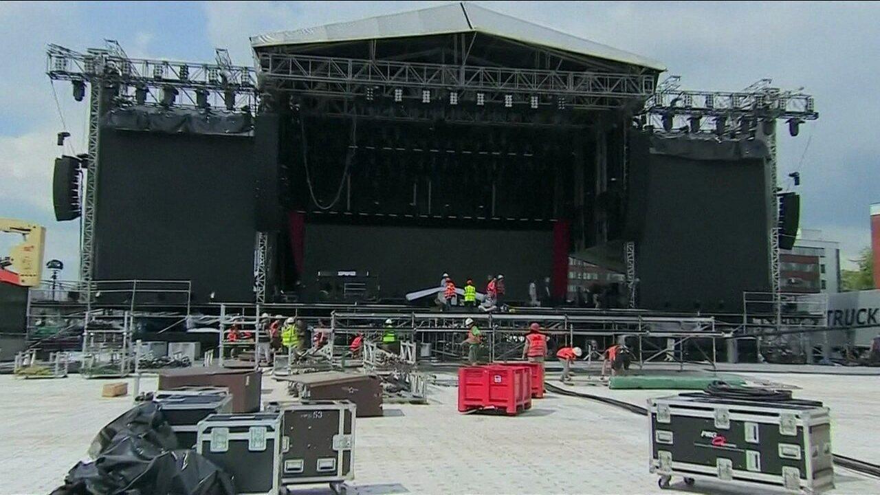 Ariana Grande e artistas internacionais fazem show beneficente em Manchester