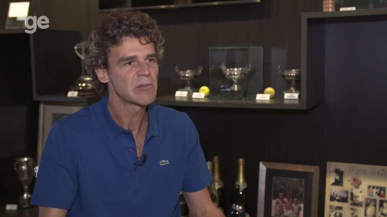 Guga, sobre Senna: