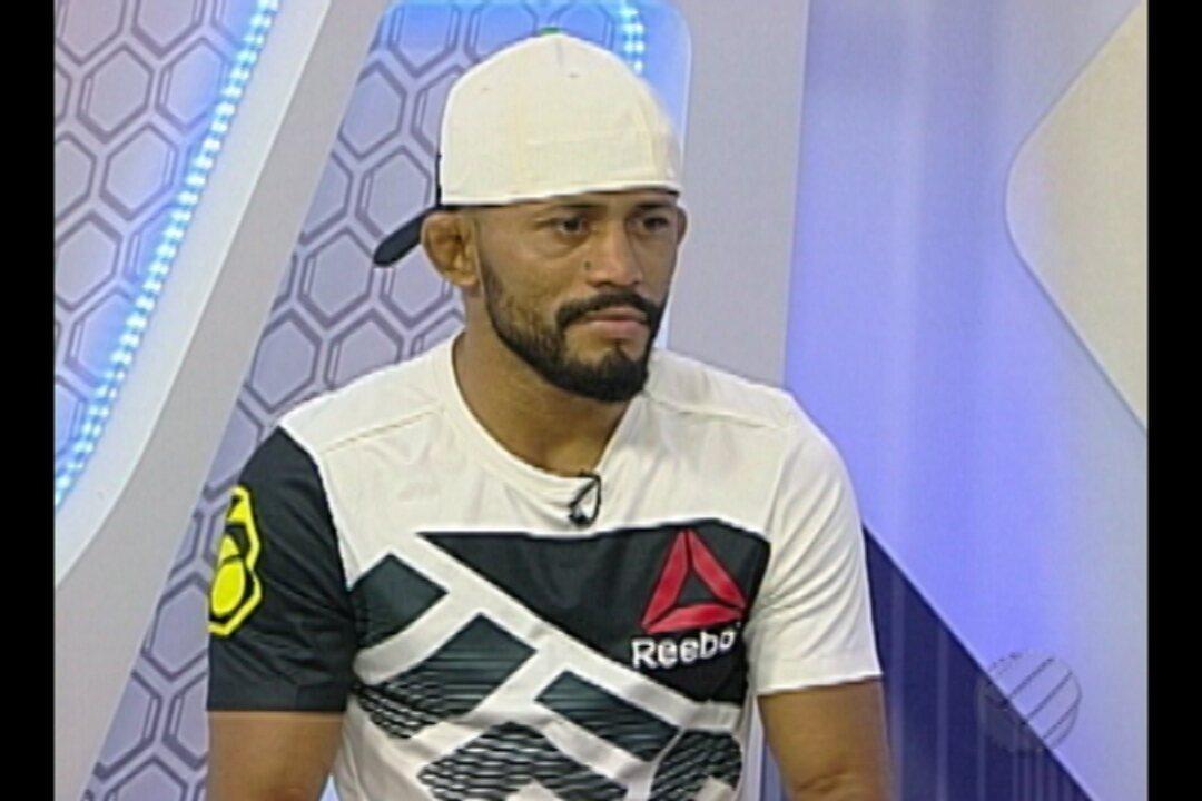 Daico participa do Globo Esporte Pará e fala sobre vitória no UFC