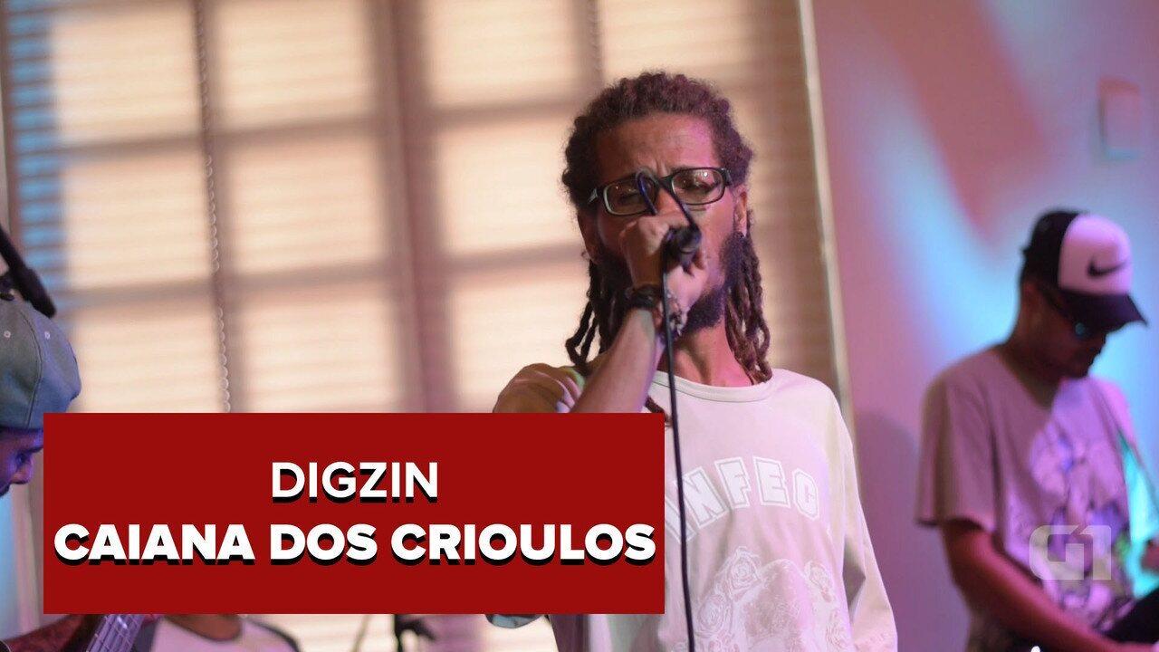 DigZin - Caiana dos Crioulos (no Som Nascente)