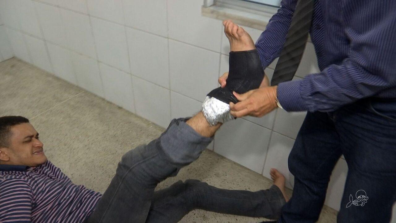 Homem com tornozeleira eletrônica burla equipamento e comete crimes em Fortaleza