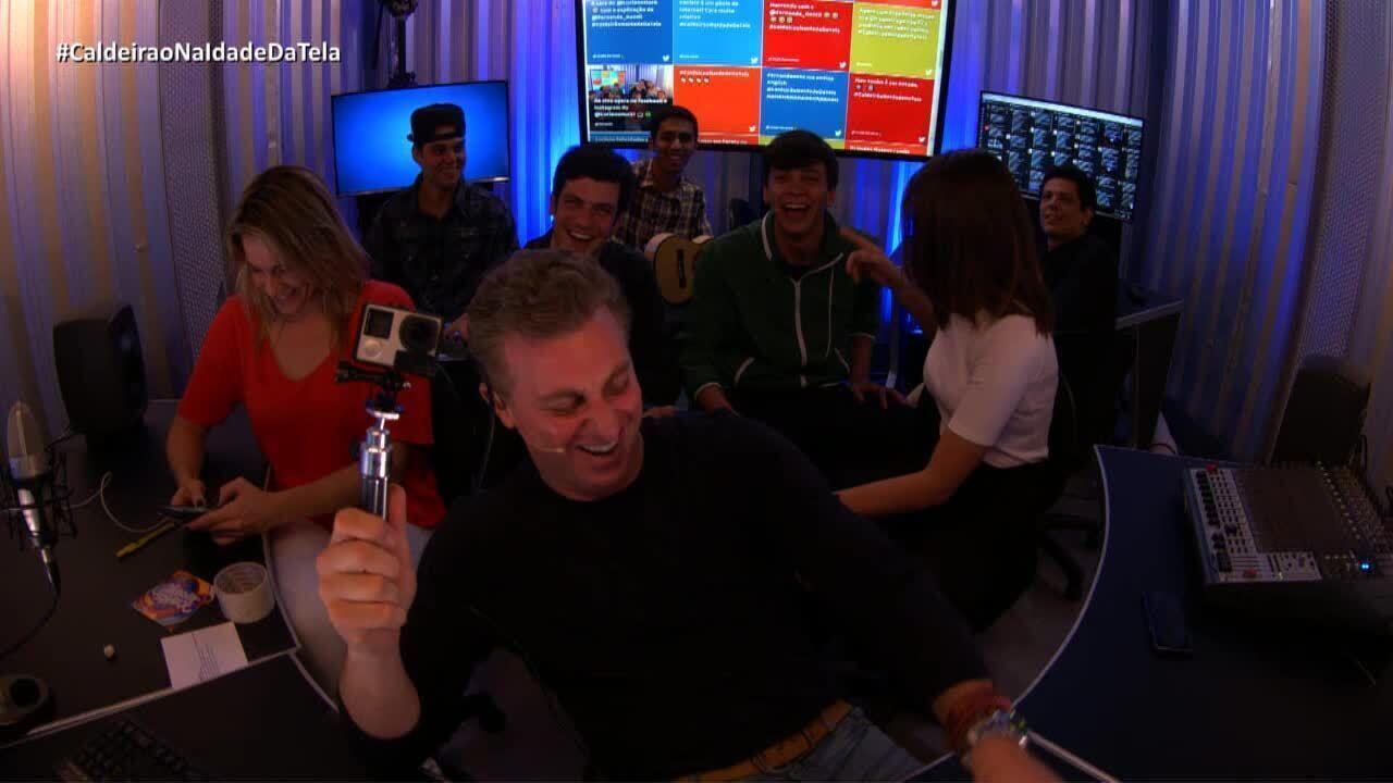 'Caldeirão na Idade da Tela': Luciano comenta vídeo que virou hit na web