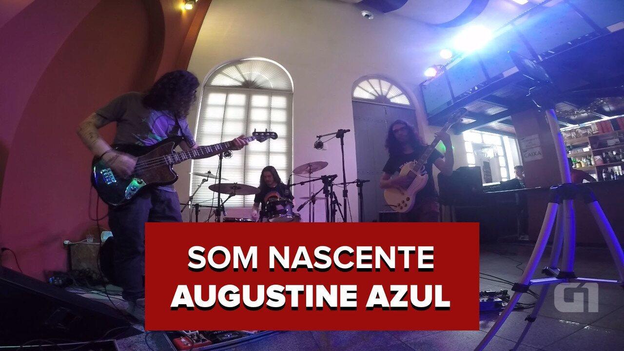 Augustine Azul no Som Nascente