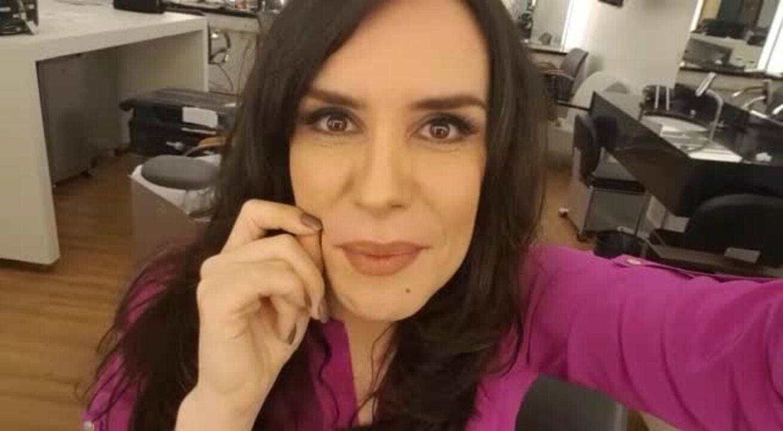 Maria Clara Spinelli dá spoiler