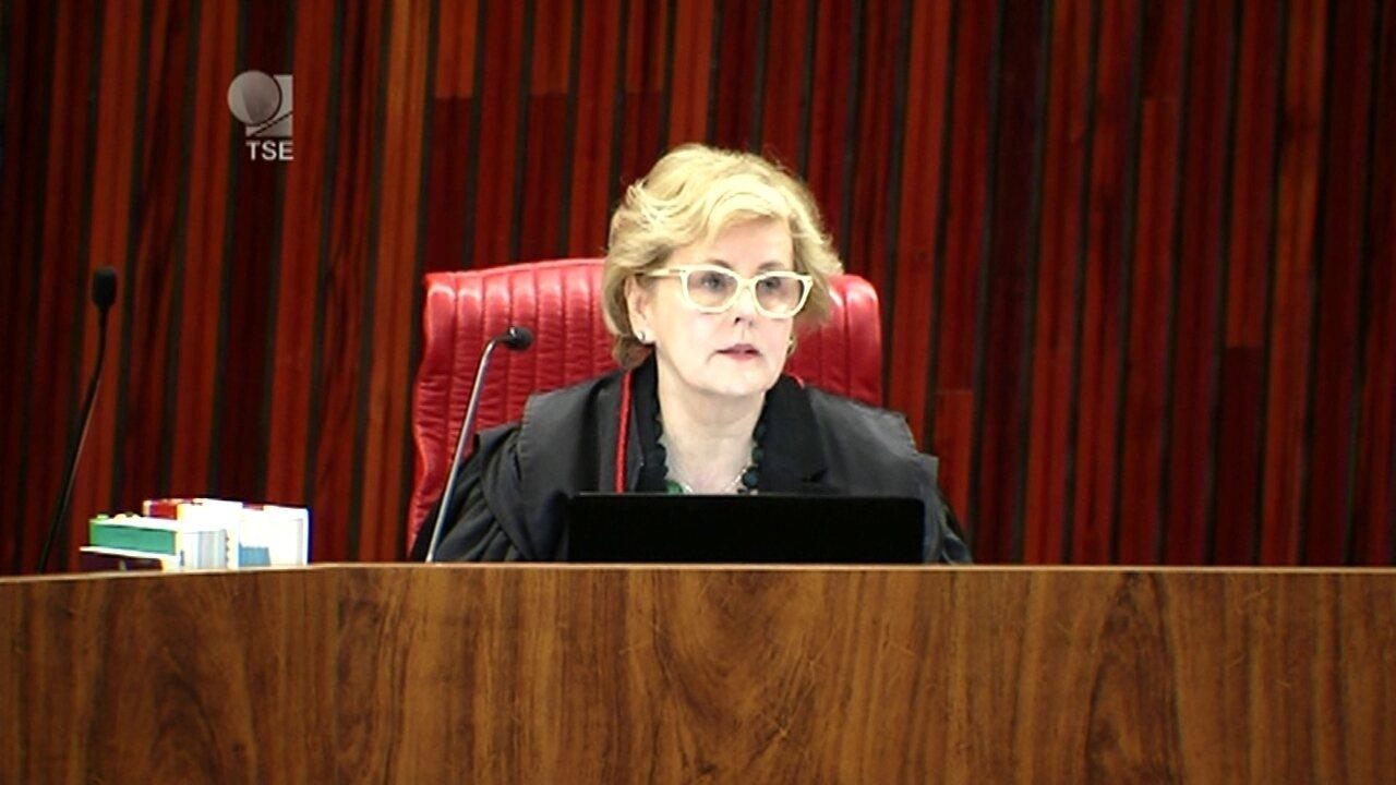 Ministra Rosa Weber vota pela cassação da chapa Dilma-Temer