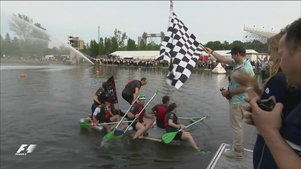 Confira prova de rafting de escuderias no Canadá