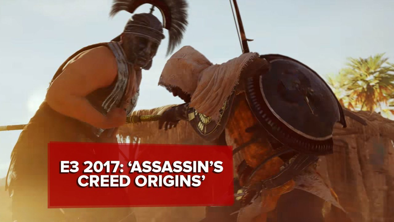 E3 2017: 'Assassin's Creed Origins' ganha trailer e é confirmado