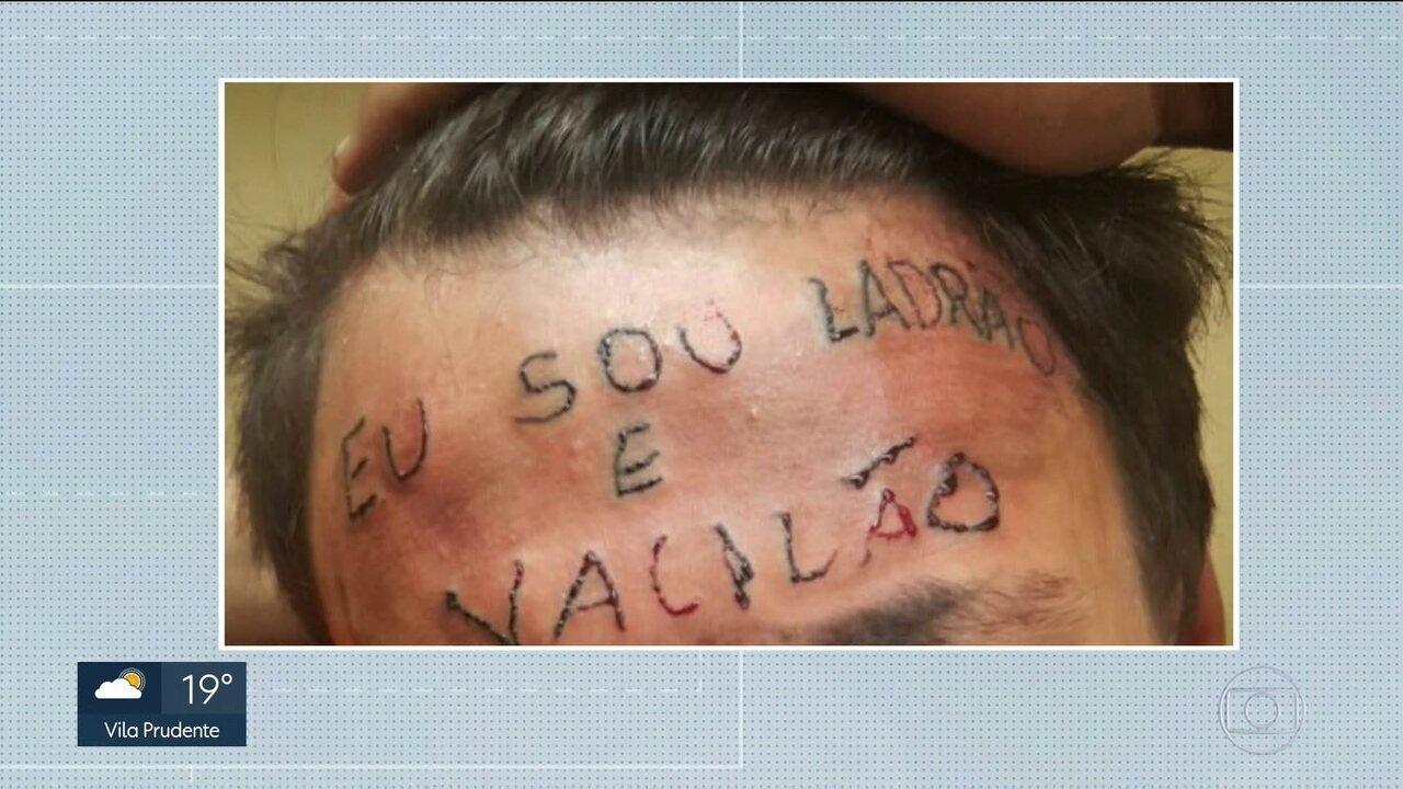 Prefeitura vai oferecer tratamento médico e psiquiátrico a jovem que foi tatuado na testa