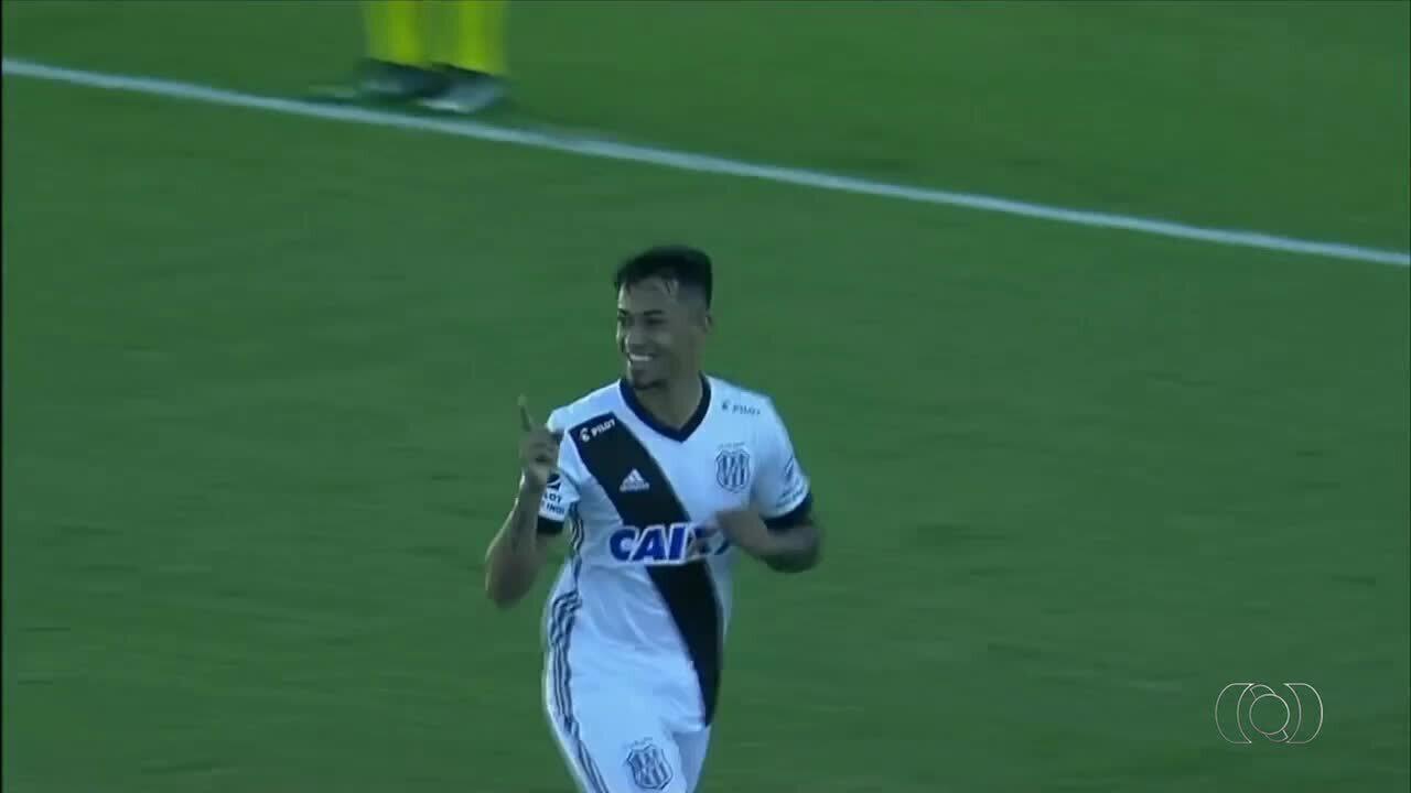 Lucca marca mais uma vez no Brasileirão e é destaque no 'Gols Tocantinenses'