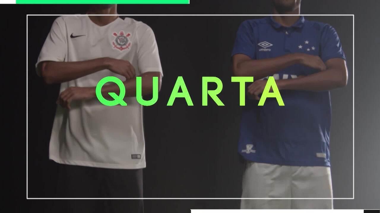 TV Globo Minas transmite Corinthians x Cruzeiro, nesta quarta-feira, pelo Brasileirão