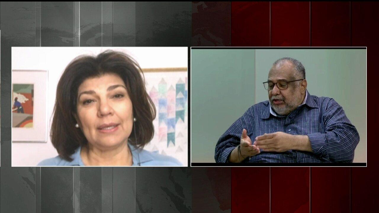 """""""Moreno é uma referência para o jornalismo brasileiro"""", diz Cristiana Lôbo"""