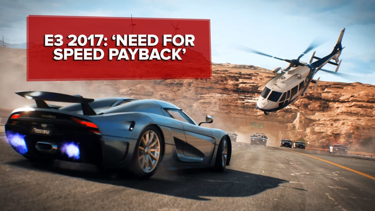 E3 2017: 'Need for Speed: Payback' se inspira em ação de 'Velozes e Furiosos'