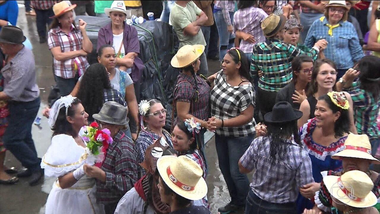 Bom Dia Brasil: título de maior quadrilha junina vai para Campina Grande, na Paraíba, pelo quinto ano