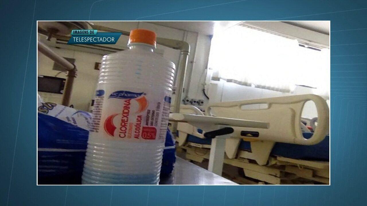Hospitais públicos usam produtos proibidos pela Anvisa para desinfetar ambiente hospitalar