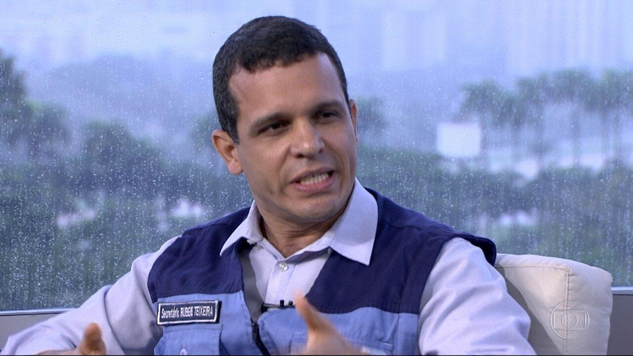 Secretário Municipal de Conservação e Meio Ambiente comenta resposta da cidade à chuva