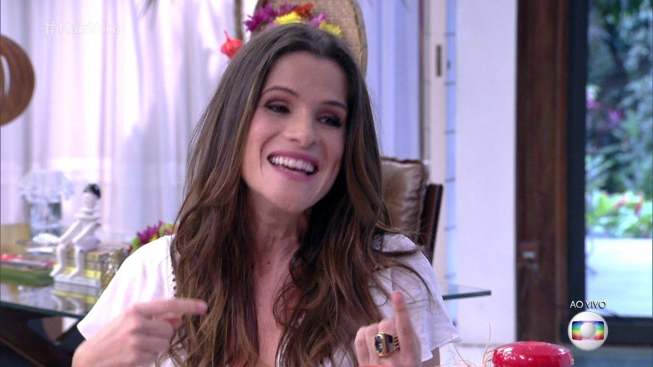 Ingrid Guimarães fala da preparação para viver a Elvira