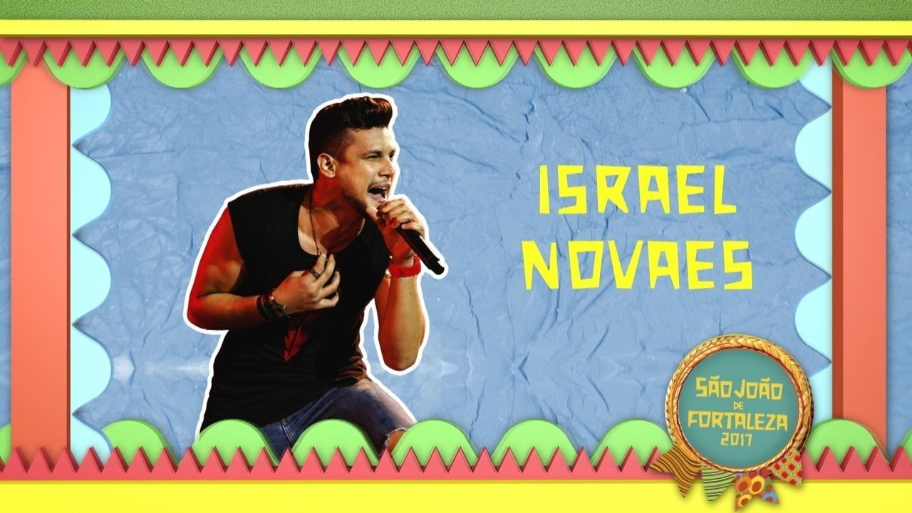 Israel Novaes entre atrações desta sexta (23) no São João de Fortaleza