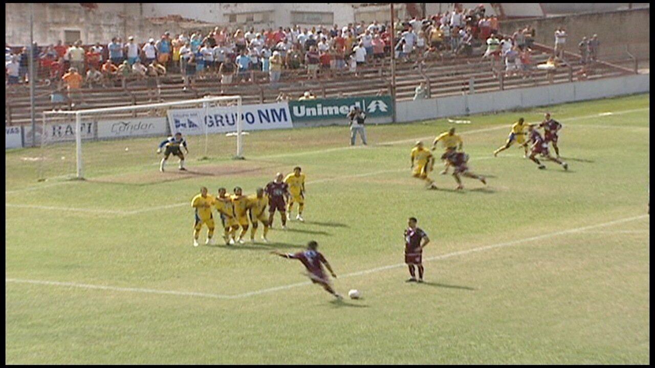 Os gols de Desportiva Capixaba 3 x 1 Rio Bananal, pela Série B do Campeonato Capixaba 2007
