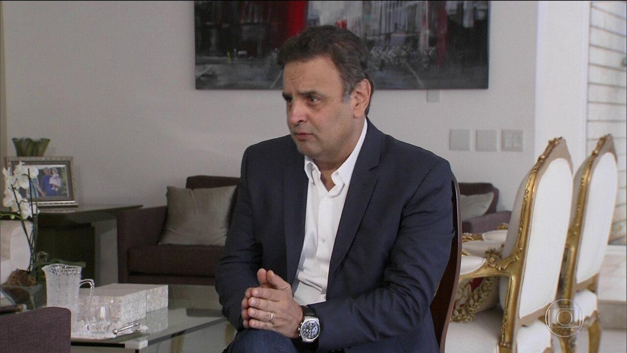 Presidente do Conselho de Ética do Senado arquiva pedido de cassação de Aécio Neves