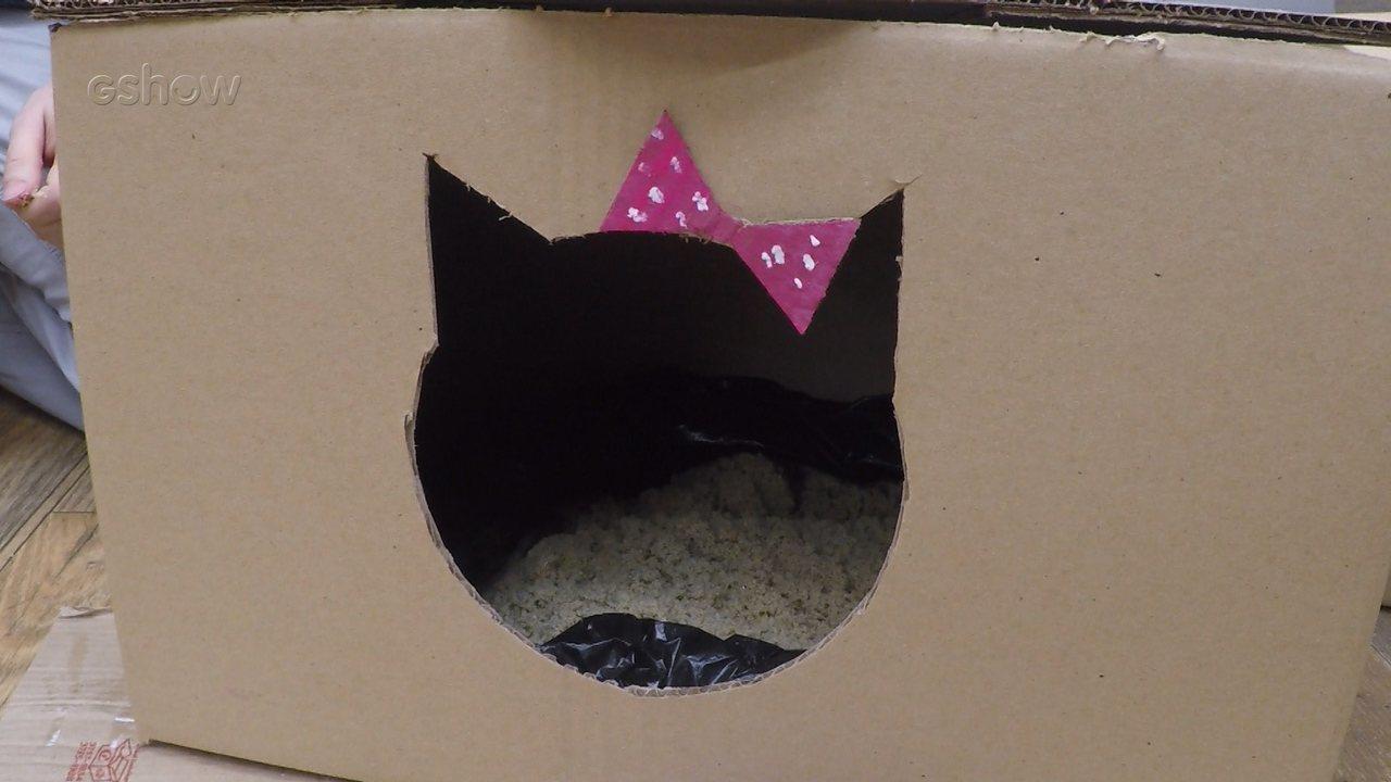Veja como fazer uma caixa de areia de papelão