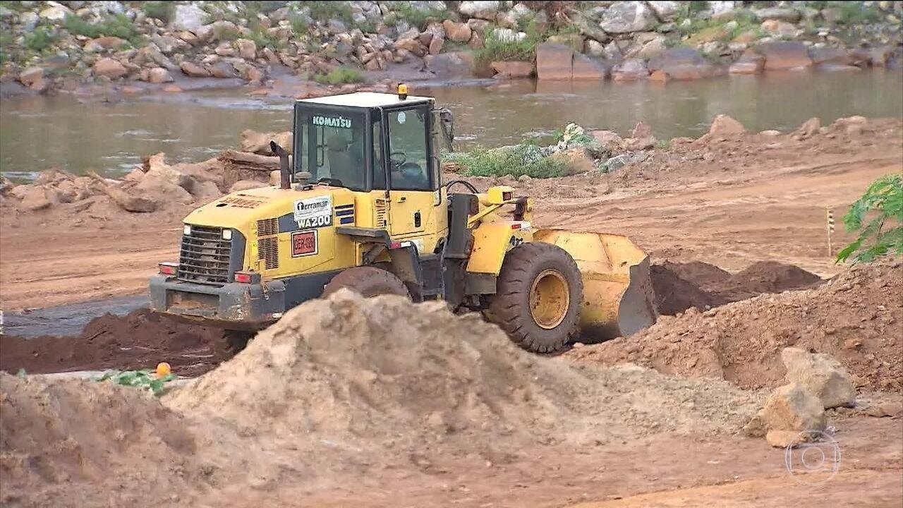 Ainda não há plano de recuperação das áreas atingidas pela lama em Mariana (MG)
