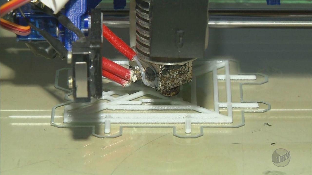 Fábrica de Pouso Alegre (MG) usa impressão 3D na produção de ladrilhos hidráulicos