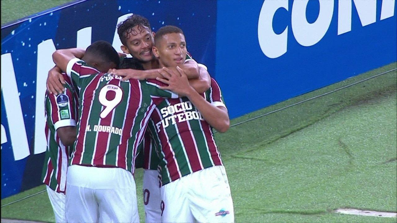 faf86b46a2 Os gols de Fluminense 4 x 0 Universidad de Quito pela Copa Sul-Americana