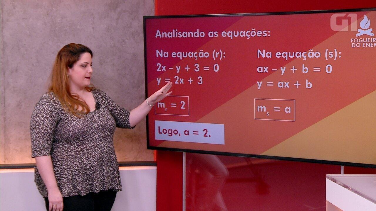 Fogueira do Enem: matemática - parte 3