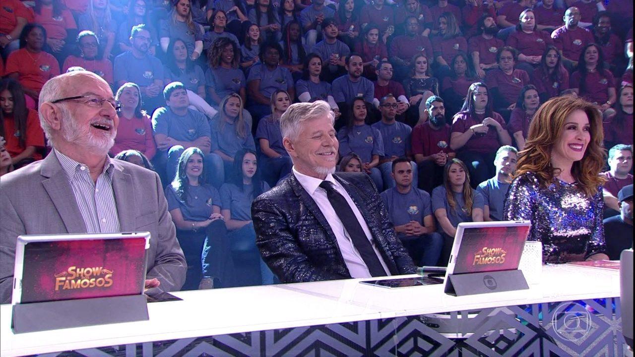 Claudia Raia, Miguel Falabella e Sílvio de Abreu comentam sobre a final