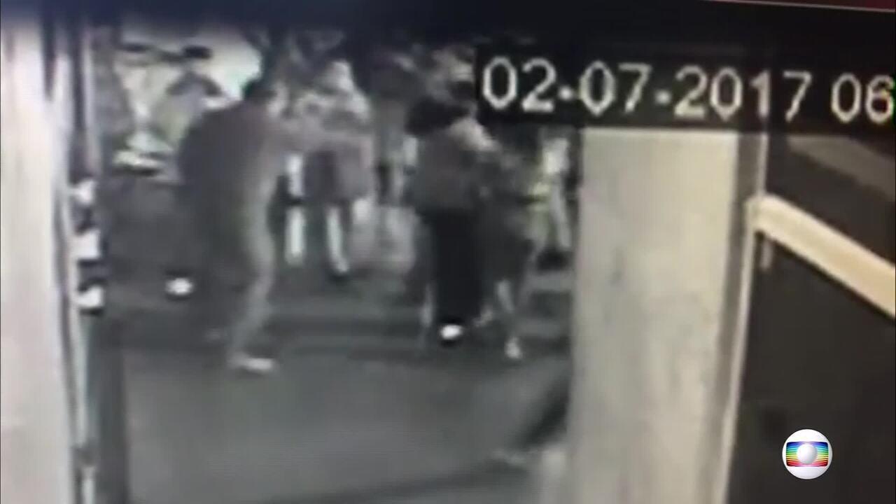 Vídeos mostram momento em que suspeito atira em jovem no Conic, no DF