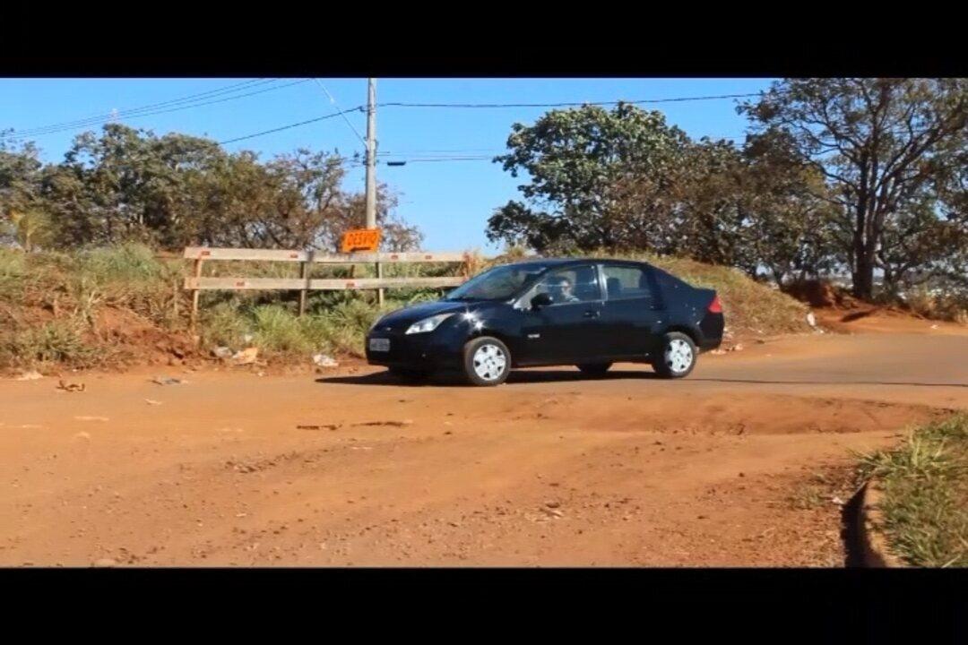 G1 mostra sinalização precária e imprudência de motoristas em obras do anel viário sul