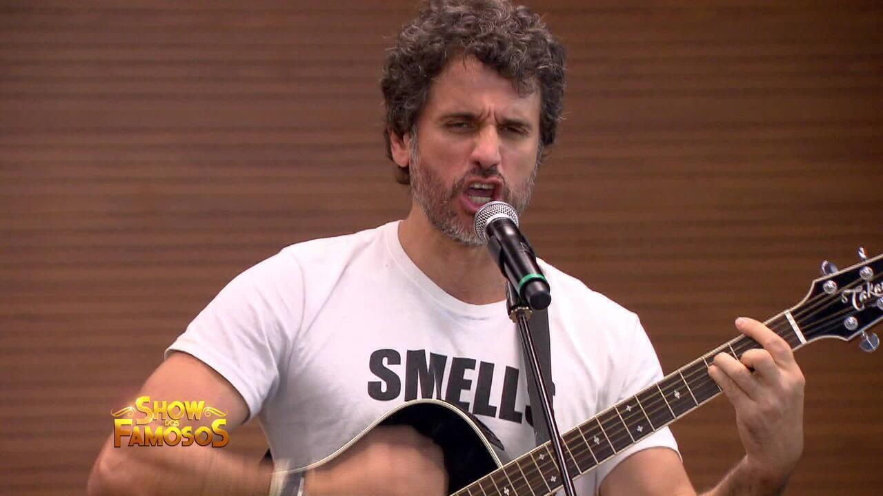 Eriberto Leão se transforma em Zé Ramalho