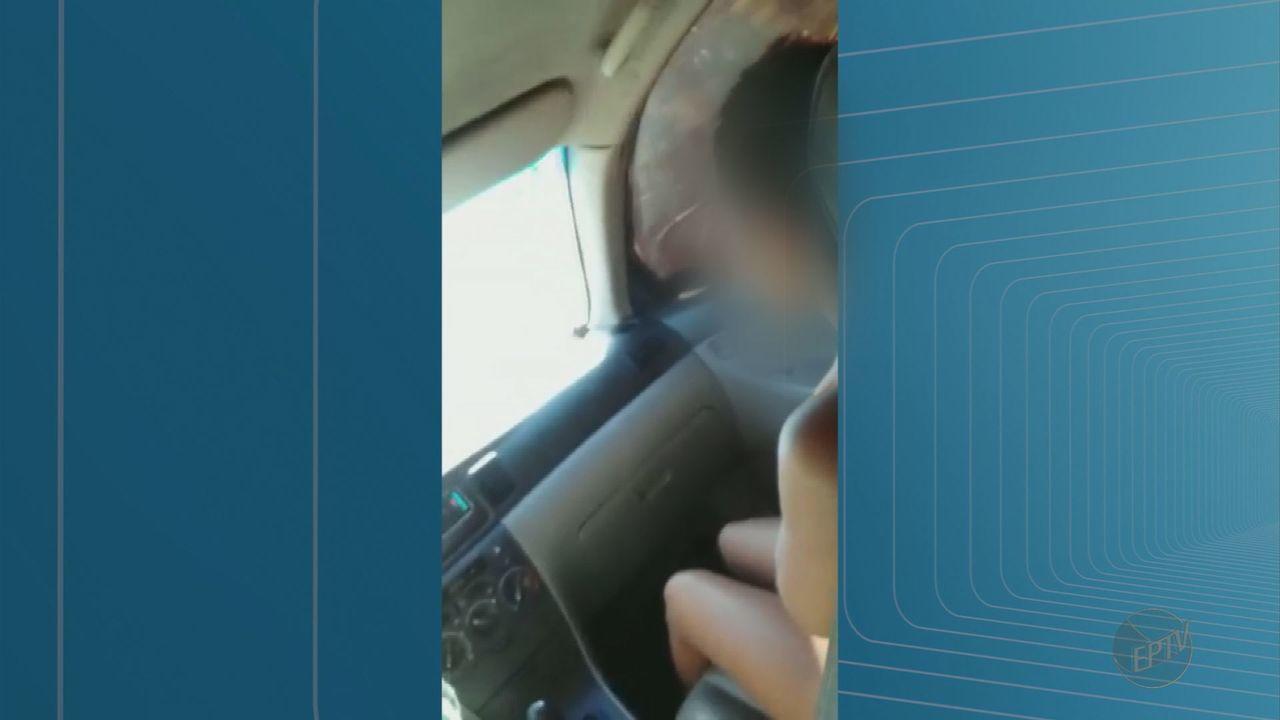 Em vídeo, mulher constrange e humilha suposta amante do marido em Barretos, SP