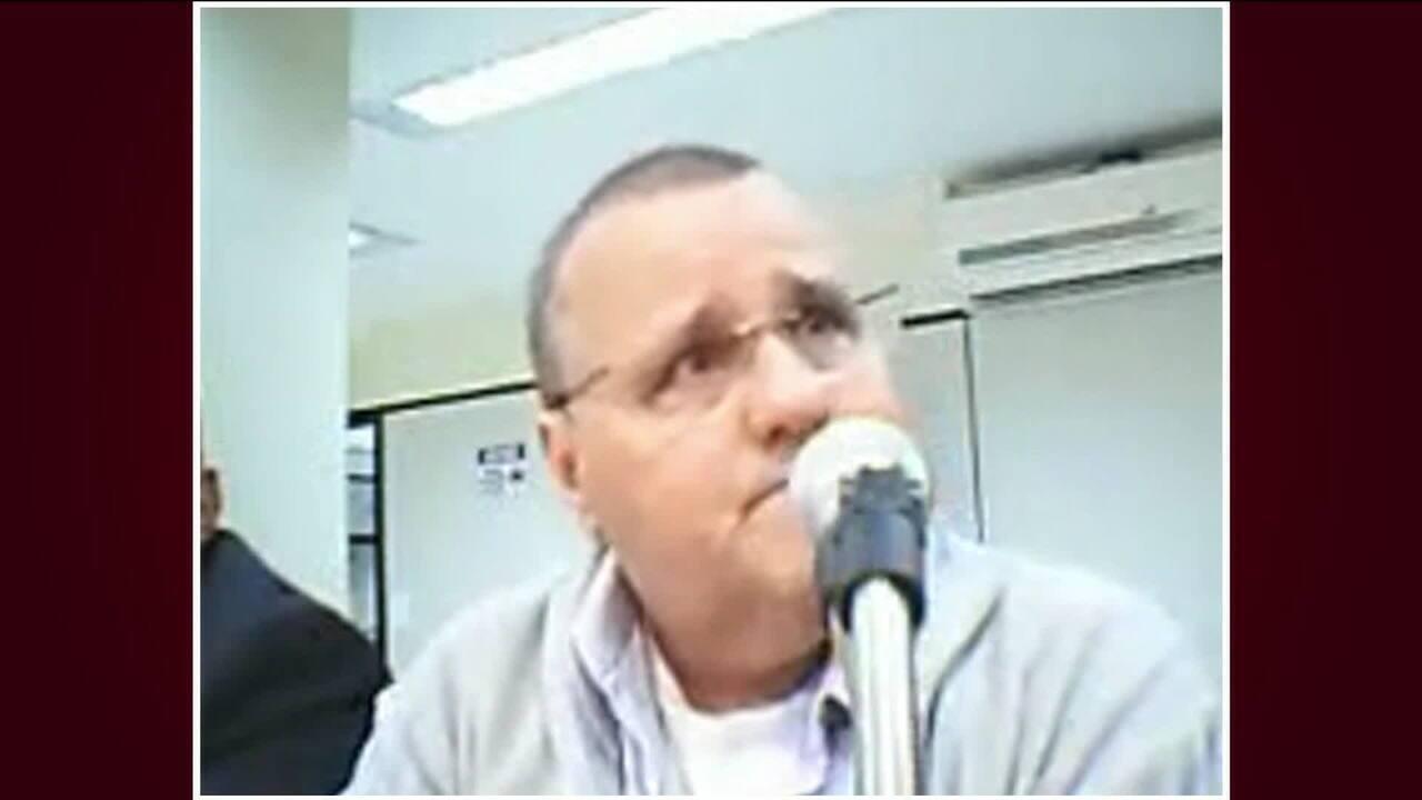 Geddel Vieira Lima durante audiência de custódia na Justiça Federal