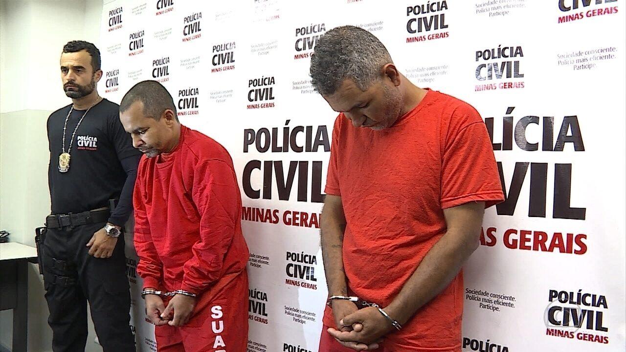 Polícia prende dois irmãos suspeitos de praticar crimes contra duas cunhadas