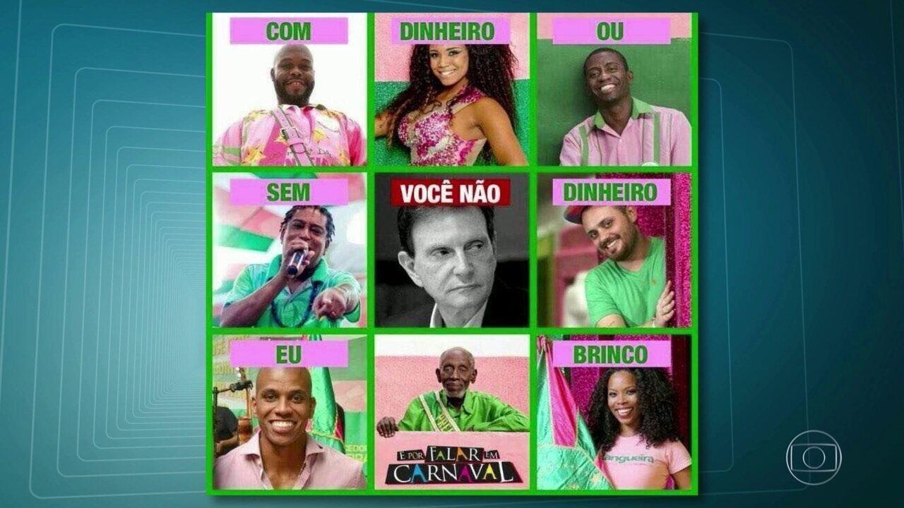 Crítica à Prefeitura do Rio é enredo da Mangueira para o carnaval 2018