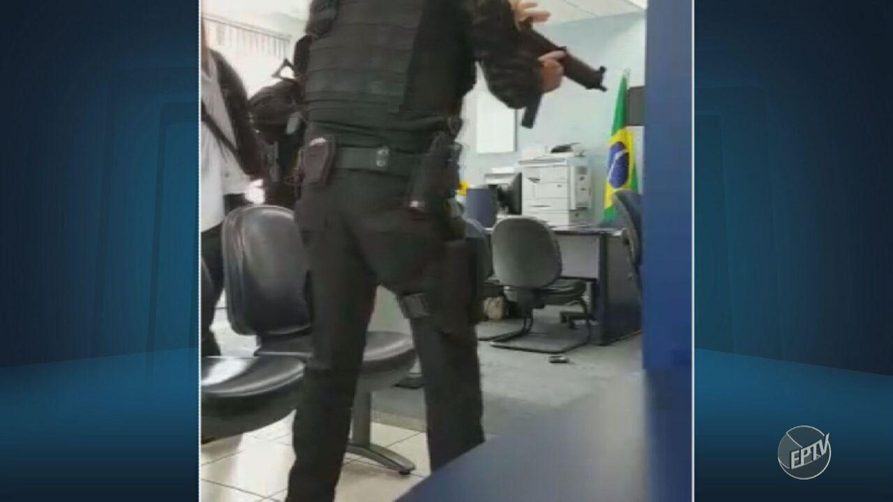 Caixas eletrônicos de agência alvo de assalto em Ipeúna voltam a funcionar