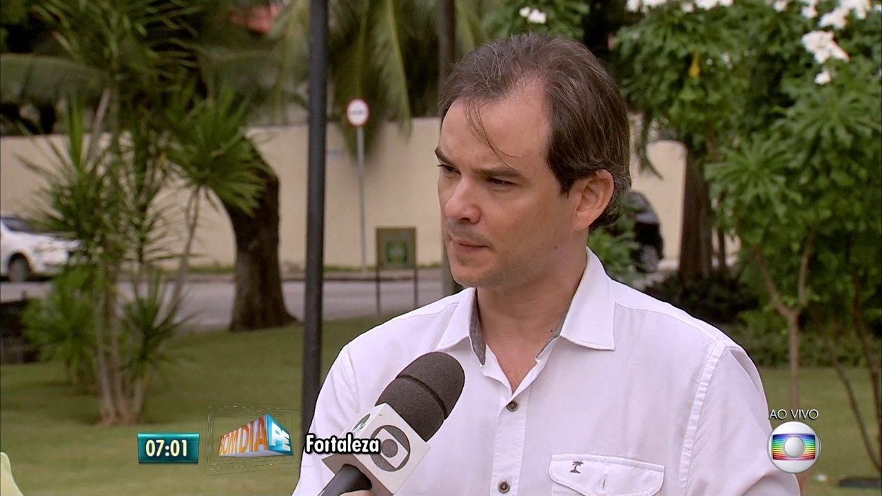 Palestrante fala sobre tiroteio em centro espírita no Grande Recife