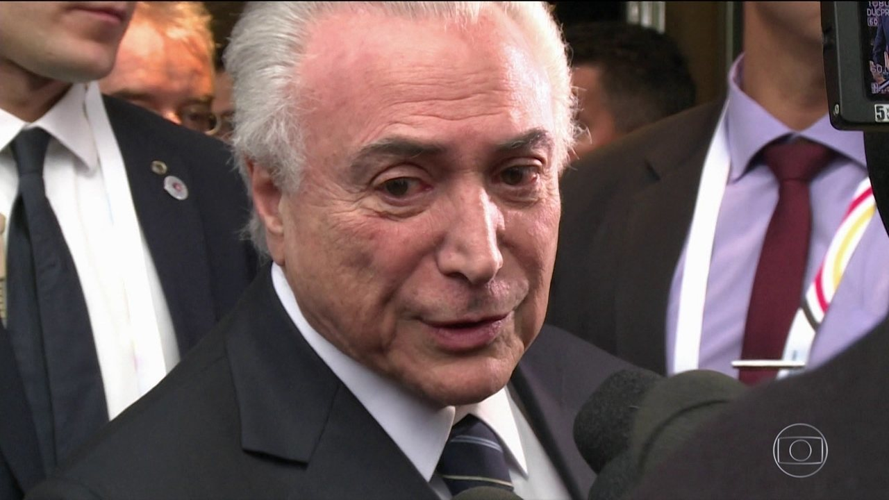 'Não existe crise econômica no Brasil', diz Temer antes da reunião do G-20