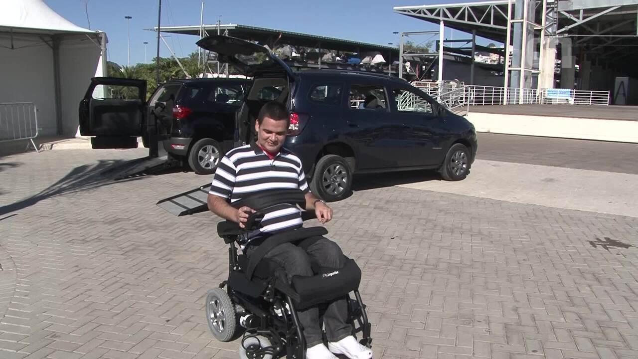 Feira gratuita de acessibilidade reúne veículos adaptados na Zona Sul do Rio