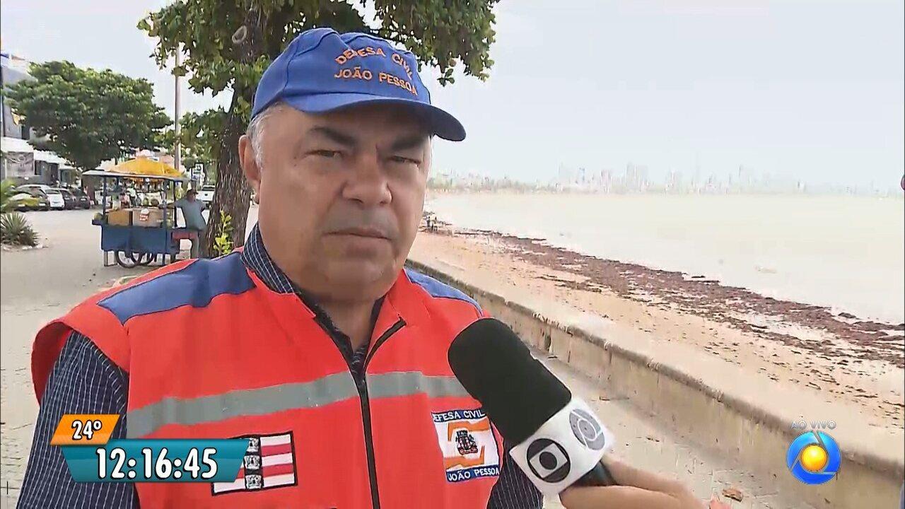 Defesa Civil de João Pessoa tranquiliza população em relação à chuva