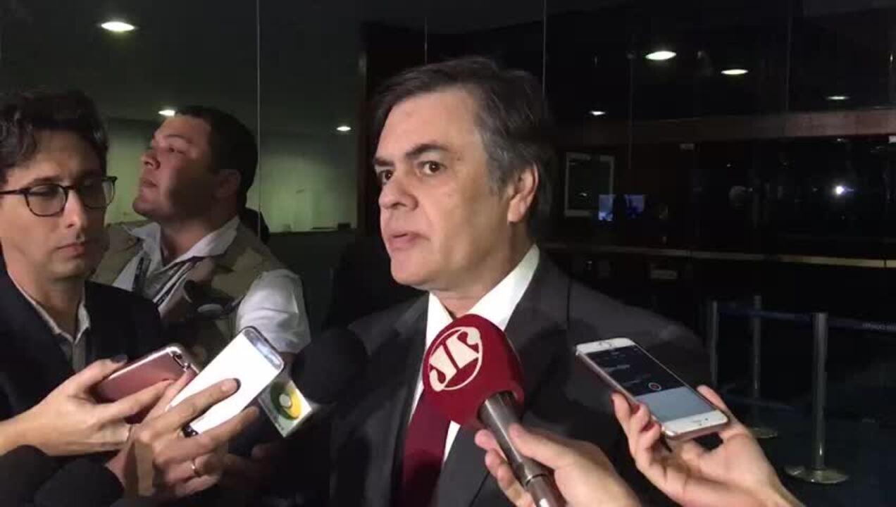 Senador Cássio Cunha Lima sobre análise da denúncia contra o presidente Temer