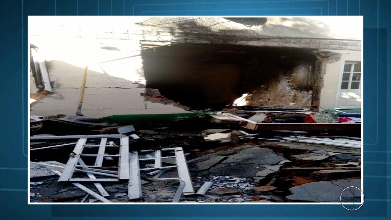 Morre em hospital jovem que teve corpo queimado em explosão por vazamento de gás