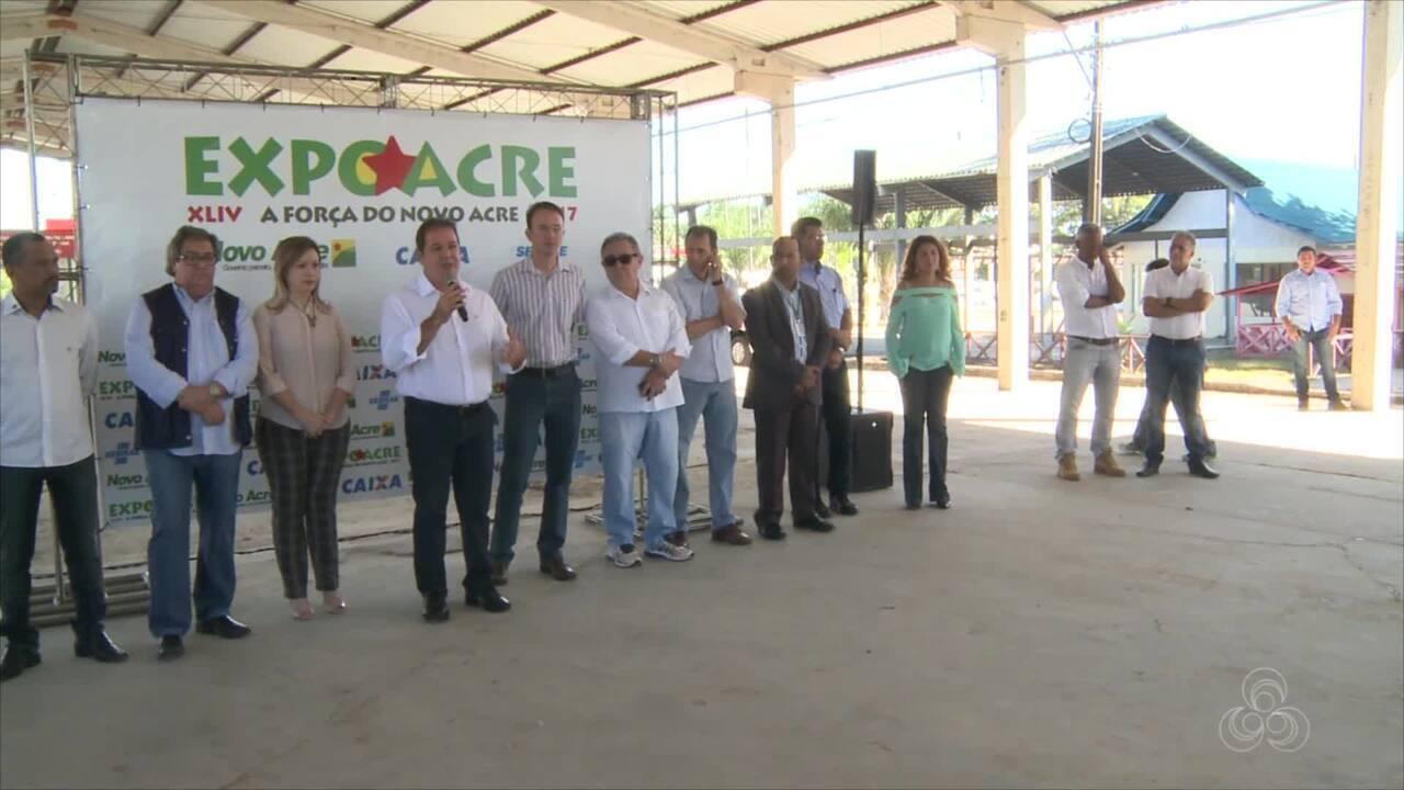 Governo divulga programação oficial da Expoacre 2017