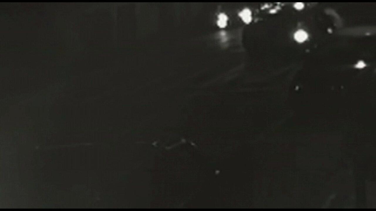 Vídeo: veja o acidente que causou a morte de um mototaxista em Ponta Grossa