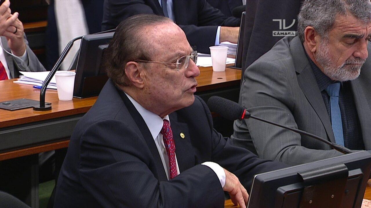 CCJ Maluf diz que Temer é'correto decente e honesto e que acusação é'imprópria